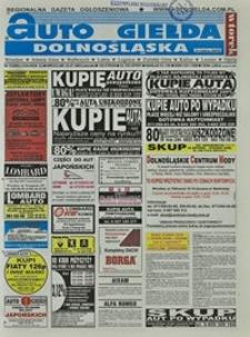 Auto Giełda Dolnośląska : regionalna gazeta ogłoszeniowa, 2003, nr 72 (1034) [22.07]