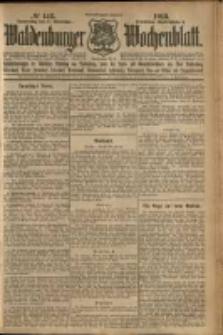 Waldenburger Wochenblatt, Jg. 59, 1913, nr 142