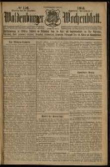 Waldenburger Wochenblatt, Jg. 59, 1913, nr 156