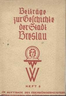 Entwicklung und Organisation des neuzeitlichen Sports in Breslau von den Anfängen bis 1905