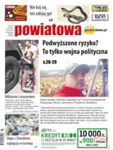 Gazeta Powiatowa - Wiadomości Oławskie, 2017, nr 33