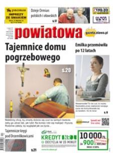 Gazeta Powiatowa - Wiadomości Oławskie, 2017, nr 44