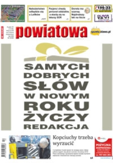 Gazeta Powiatowa - Wiadomości Oławskie, 2017, nr 52