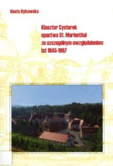 Klasztor Cysterek opactwa St. Marienthal ze szczególnym uwzględnieniem lat 1945-1997