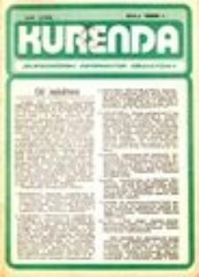 Kurenda : jeleniogórski informator oświatowy, 1986, nr 1 (1)