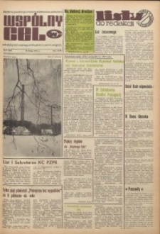 Wspólny cel : gazeta samorządu robotniczego Celwiskozy, 1974, nr 4 (559)