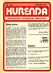 Kurenda : jeleniogórski informator oświatowy, 1986, nr 2 (2)