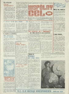 """Wspólny cel : gazeta samorządu robotniczego """"Celwiskozy"""", 1978, nr 28 (727)"""