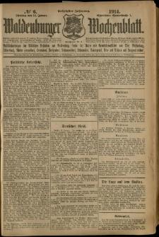 Waldenburger Wochenblatt, Jg. 60, 1914, nr 6