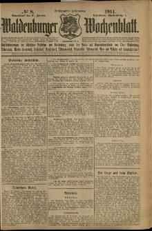 Waldenburger Wochenblatt, Jg. 60, 1914, nr 8