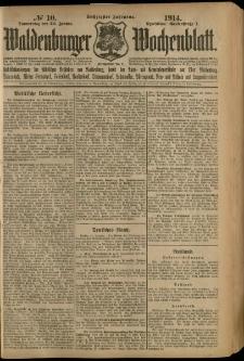 Waldenburger Wochenblatt, Jg. 60, 1914, nr 10
