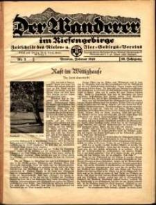 Der Wanderer im Riesengebirge, 1940, nr 2