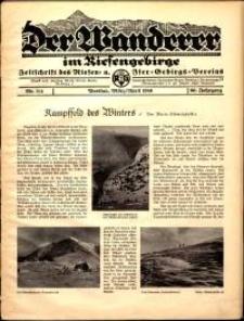 Der Wanderer im Riesengebirge, 1940, nr 3-4