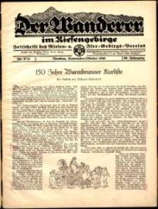 Der Wanderer im Riesengebirge, 1940, nr 9-10