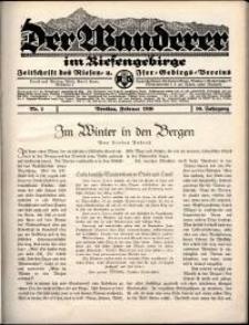 Der Wanderer im Riesengebirge, 1936, nr 2