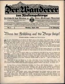 Der Wanderer im Riesengebirge, 1936, nr 4