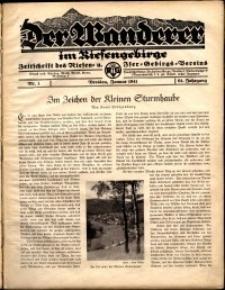Der Wanderer im Riesengebirge, 1941, nr 1