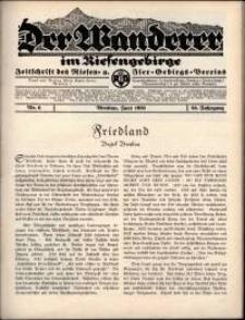 Der Wanderer im Riesengebirge, 1936, nr 6
