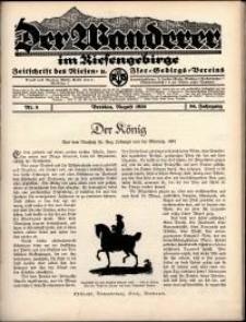Der Wanderer im Riesengebirge, 1936, nr 8
