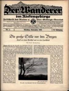 Der Wanderer im Riesengebirge, 1936, nr 11