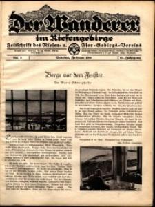 Der Wanderer im Riesengebirge, 1941, nr 2
