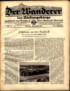Der Wanderer im Riesengebirge, 1941, nr 6-7