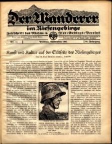 Der Wanderer im Riesengebirge, 1941, nr 11