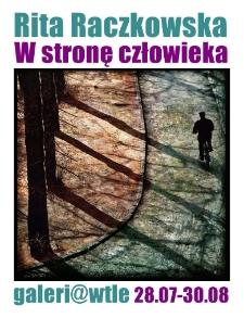 Rita Raczkowska - W stronę człowieka - plakat [Dokument elektroniczny]