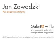 Jan Zawadzki - Psie bieganie na Polanie - afisz [Dokument elektroniczny]