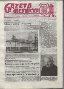 Gazeta Oleśnicka: dwutygodnik Ziemi Oleśnickiej, 1990, nr 07