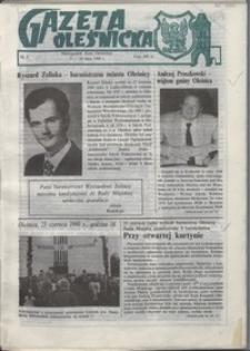 Gazeta Oleśnicka: dwutygodnik Ziemi Oleśnickiej, 1990, nr 8