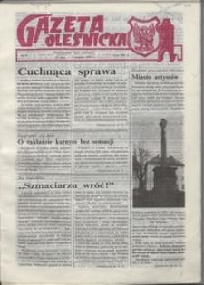 Gazeta Oleśnicka: dwutygodnik Ziemi Oleśnickiej, 1990, nr 9