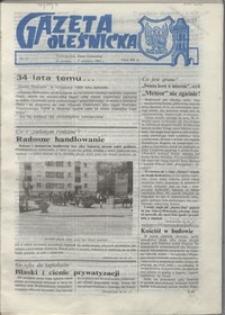 Gazeta Oleśnicka: dwutygodnik Ziemi Oleśnickiej, 1990, nr 11
