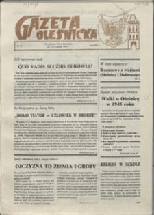 Gazeta Oleśnicka: dwutygodnik Ziemi Oleśnickiej, 1990, nr 12