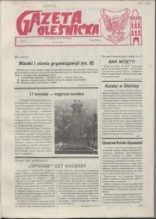 Gazeta Oleśnicka: dwutygodnik Ziemi Oleśnickiej, 1990, nr 13