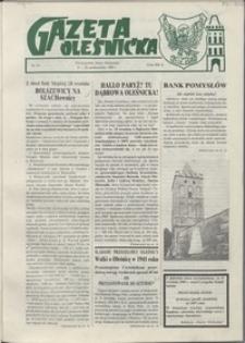 Gazeta Oleśnicka: dwutygodnik Ziemi Oleśnickiej, 1990, nr 14