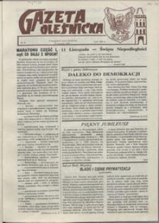 Gazeta Oleśnicka: dwutygodnik Ziemi Oleśnickiej, 1990, nr 16
