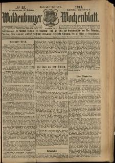 Waldenburger Wochenblatt, Jg. 60, 1914, nr 23