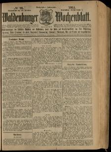 Waldenburger Wochenblatt, Jg. 60, 1914, nr 26
