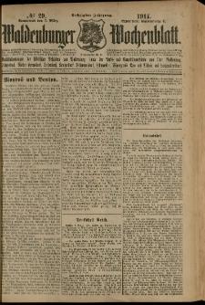 Waldenburger Wochenblatt, Jg. 60, 1914, nr 29