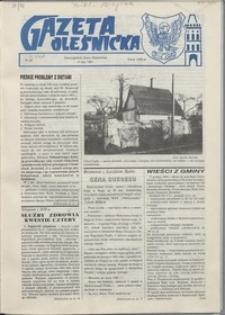 Gazeta Oleśnicka: dwutygodnik Ziemi Oleśnickiej, 1991, nr 20
