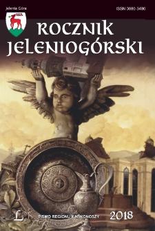 Rocznik Jeleniogórski : pismo regionu Karkonoszy, T. 50 (2018)