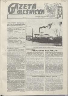 Gazeta Oleśnicka: dwutygodnik Ziemi Oleśnickiej, 1991, nr 22