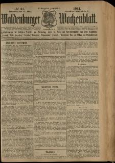 Waldenburger Wochenblatt, Jg. 60, 1914, nr 31