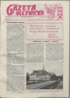 Gazeta Oleśnicka: dwutygodnik Ziemi Oleśnickiej, 1991, nr 23