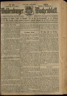 Waldenburger Wochenblatt, Jg. 60, 1914, nr 40