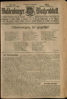 Waldenburger Wochenblatt, Jg. 60, 1914, nr 44