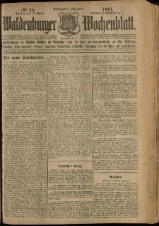 Waldenburger Wochenblatt, Jg. 60, 1914, nr 48