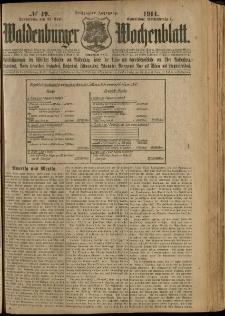 Waldenburger Wochenblatt, Jg. 60, 1914, nr 49