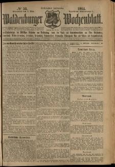 Waldenburger Wochenblatt, Jg. 60, 1914, nr 53